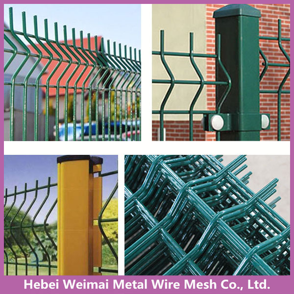3d folding metal garden wire mesh fence panel