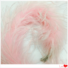 Wholesale Pink Ostrich Feather Boa For Christmas Decorations