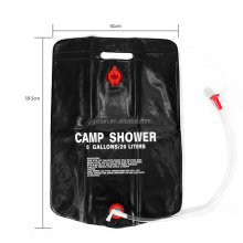 Waterproof Durable Outdoor Camping Shower Bag Custom Hanging water bladder