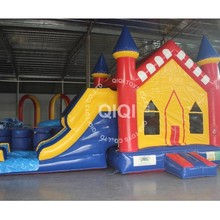 inflatable toddlers bouncy castle combo with slide for sale