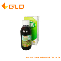OEM brand promotion development oral liquid Multivitamin Syrup for Children