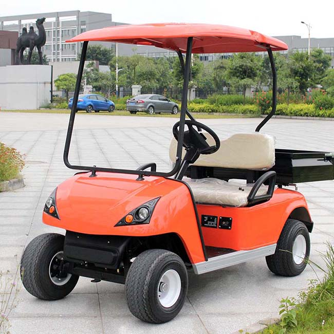 Marshell Brand Hotel 2 Seater Electric Cargo Car (DU-G2)