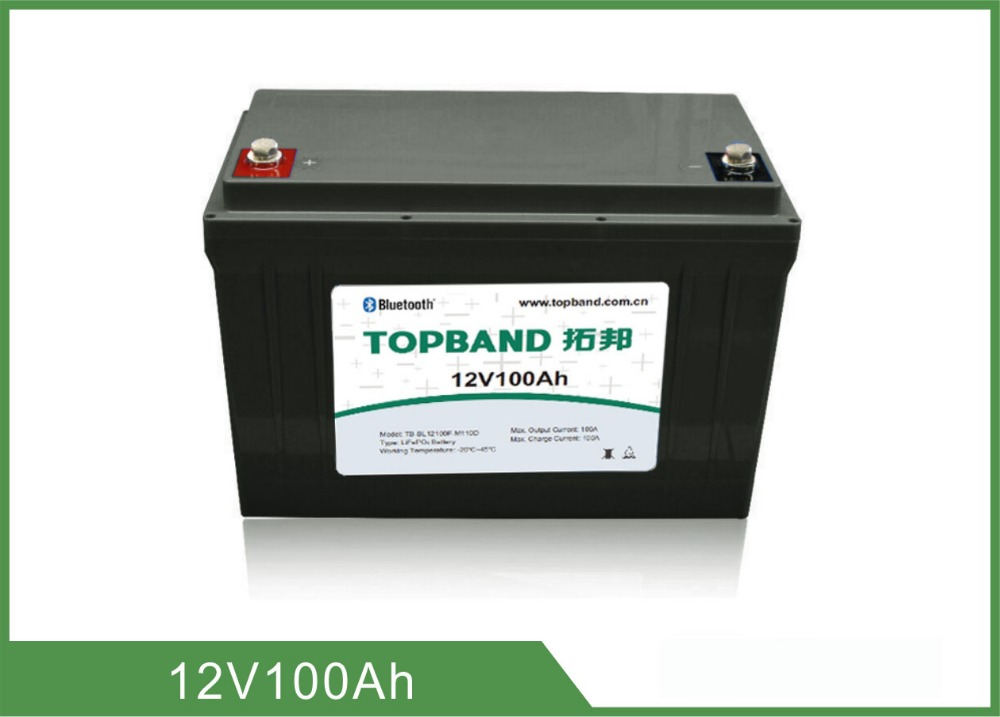 lithium battery pack with bluetooth function 12V 100Ah