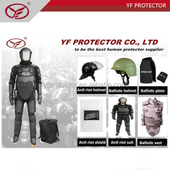 Anti riot control police equipment/military supplier riot full gear