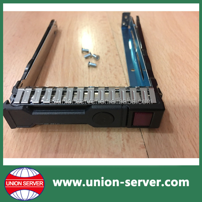 "651687-001 2.5"" SAS SATA Server HDD Tray Caddy WIth 4 Mounting Screws For hp"