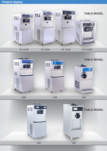 gelato machine ice cream pasteurizer keshi ice cream machine