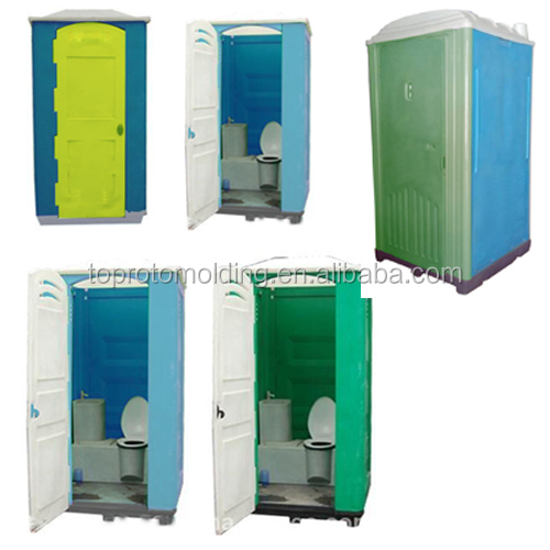 China HDPE seated Portable Toilet with Rotomolding Technology