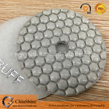 Wholesale 4 inch flexible dry wet diamond marble granite stone polishing pads with low price