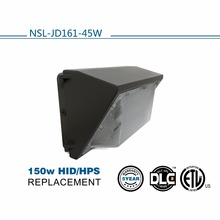 2017 New die-casting New Generation DLC ETL listed IP65 LED outdoor tunnel light led wall pack 45W