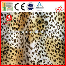 Mosquito Resistant Leopard Print Silk Fabric