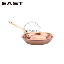 Mini 3ply stainless steel copper cooking pot deep frying pan