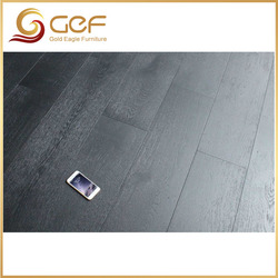 European smoked grey oak wooden flooring