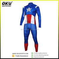 OEM Custom cycling one piece suit, cycling skin suit