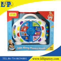 Plastic cartoon learning machine toy for kids