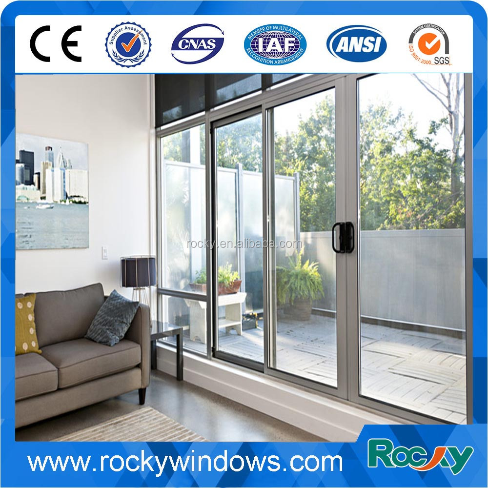 Door Low E Triple Glass Sliding Door Low E Triple Glass Sliding Door