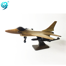 wholesale custom quality polish airplanes model wood crafts