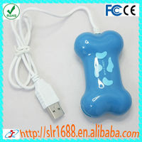 Fashionable Cute Dog Bone Shape V2.0 4 Port USB HUB
