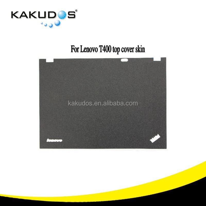 refurbished laptop decal LCD screen back cover and palmrest for Lenovo T400 computer skin