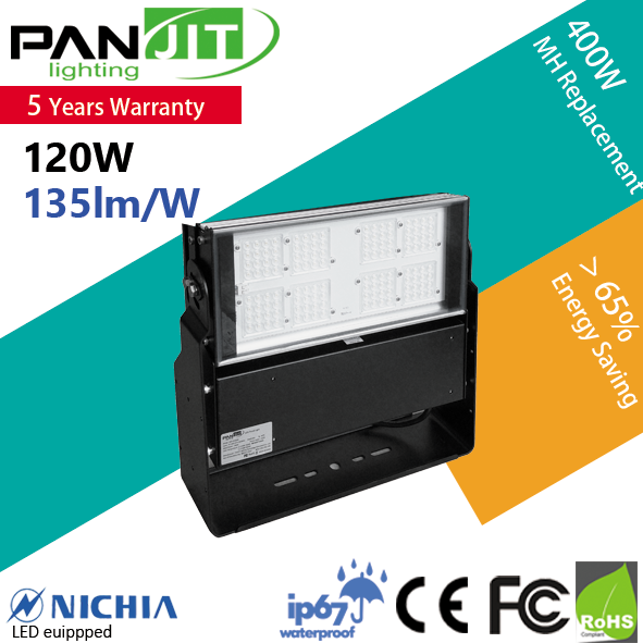 IP 67 10000 Lumens LED Floodlight with Nichia Chip