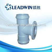 Light blue PVC rubber joint fittings