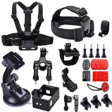 Smatree Go Pro Accessories set for GoPros Hero4/3+/3/2/1 Cameras