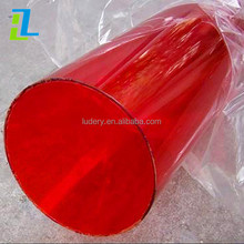 transparent clear Polycarbonate pipe, colorful PVC PC PMMA Arcylic plastic tube