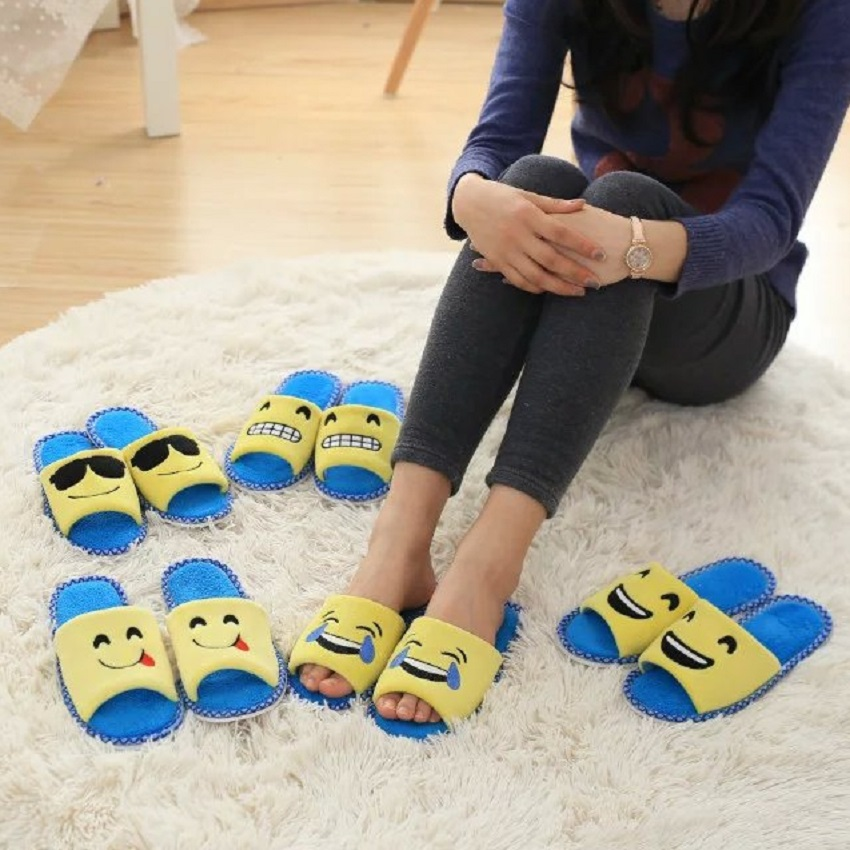 Emoji <strong>slippers</strong> spring summer autumn ladies shoes ladies house <strong>slippers</strong>