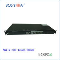 1U 19 inch 2 PON 1U rack SNMP,FTTH GPON/GEPON FTTB/FTTH OLT System with 1:64 Splitting Ratio Supported 128 ONUs Fully Compatibl