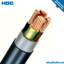 E-YY PVC Insulated PE sheath Heavy Current Cable 0.6/1kV DIN HD standard Single or Multi Core industry power cable