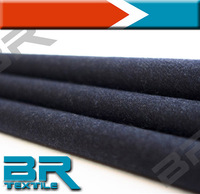 Worsted Wool Polyester Blended Fabric For Mens Suiting