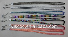Different pattern ego bling lanyard/ necklace with metal ring for ecigarette