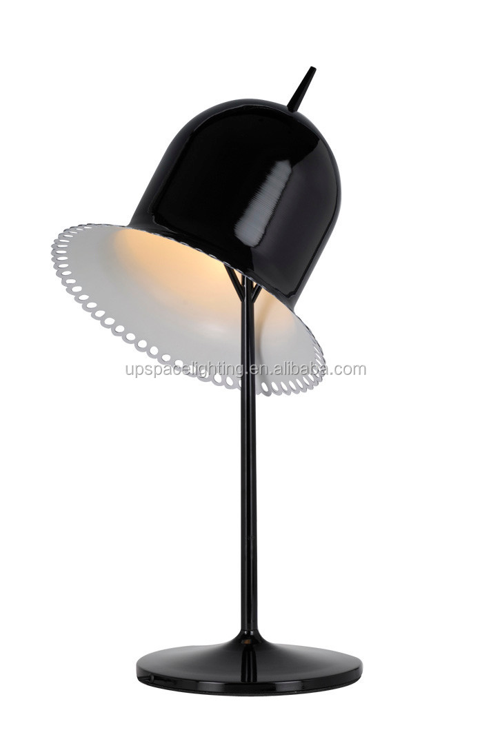 (XCT54366) Modern Lolita dainty polka dot edge aluminum Table Lamp