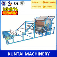 Kuntai Bestselling Water Based Glue Laminating Machine for Leather/foam/Non-woven fabric