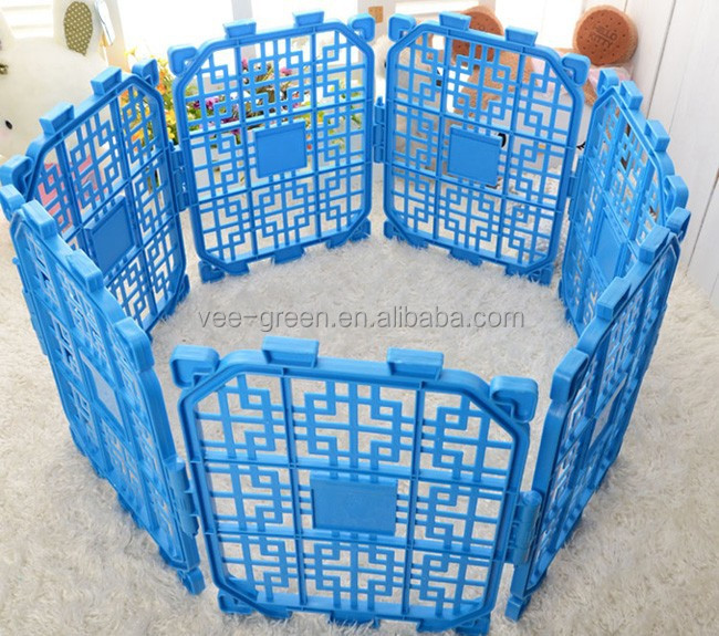 DIY Foldable Plastic Dog Fence/ Plastic Dog Enclosure/ Plastic Dog Pen