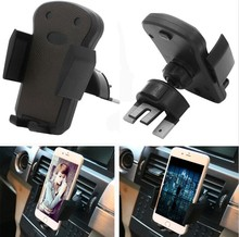 Easy Button Air Vent and CD Slot Car Mount Phone Holder with 360 degree rotation Black