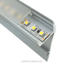 waterproof led plastic extrusion,pvc profile for led strip with aluminium profile floor lighting