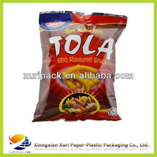 Side gusset food bag ,part Aluminium plastic packaging .China manufacturer