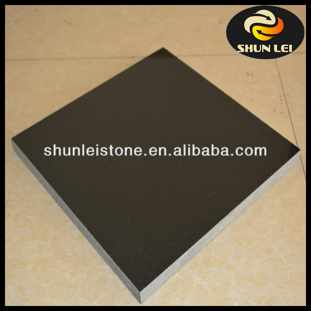 black granite tumbling granite paving stone