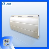 45mm PU foam insulated aluminium Rolling shutter