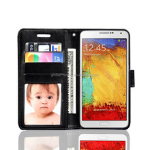 Flip case cover for samsung galaxy note 3/note 4 neo leather phone case