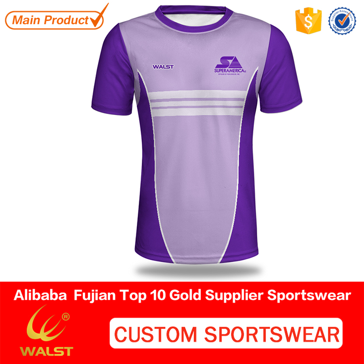 Customized polyester own design t-shirt for Club