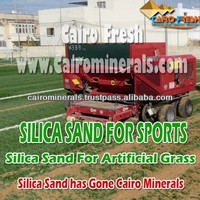 High Quality Low Cost Silica sand For Turf