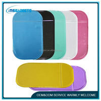 best selling pu gel magic sticky pad dashboard cell phone anti-slip pads for car ,AN-667 anti slip mat , buffing pad