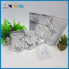 Aluminum Foil Laminated Material Cigar Cannabis Smell Proof Mylar Bag With Zipper Top Sealing & Handle