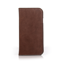 Protective flip leather slim case for iphone cover