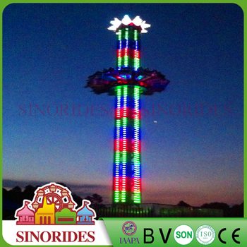 Amusement park rides drop tower jump frog Jumping Circle for sale