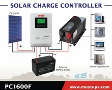 MUST PC Series Solar/Solar Power Charge Controller