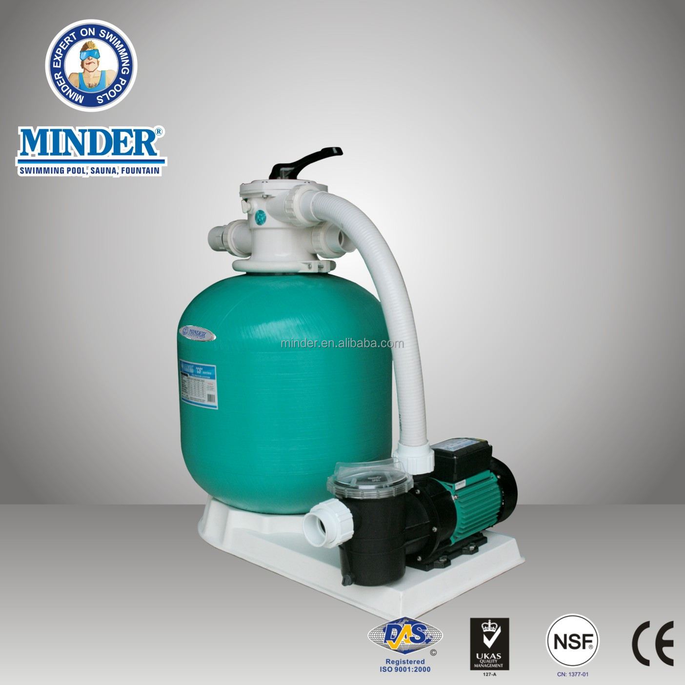 CS Swimming Pool tank sand filter sand filter and 1.5Inch Valve Swimming Pool Sand Filter