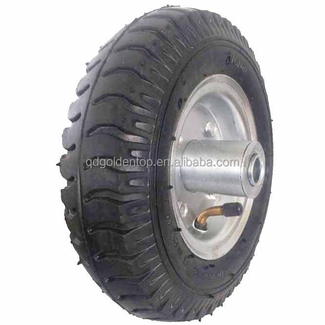 8 inch 2.50-4 pneumatic rubber wheel for hand trucks