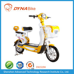City Usage 48V 12-20AH Lead Acid Battery Operated Mini Electric Motorcycle